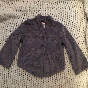 Patagonia pelage faux fur swing jacket cropped